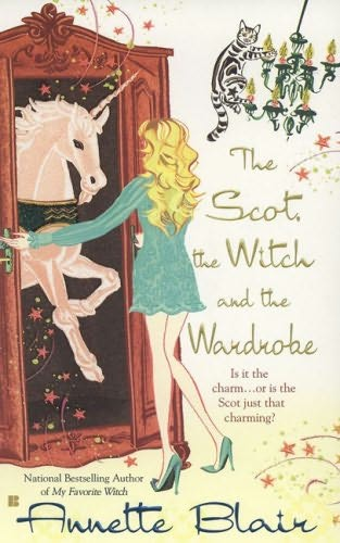 book cover of The Scot, the Witch and the Wardrobe