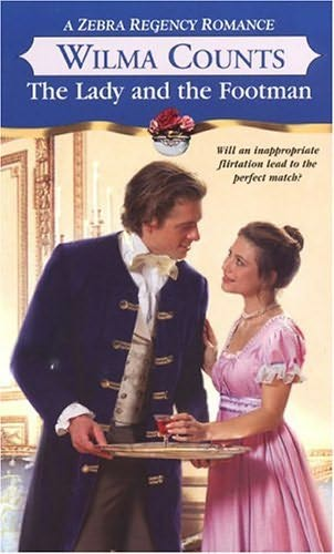 book cover of The Lady and the Footman