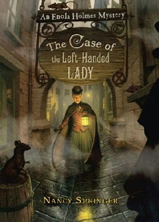 book cover of The Case of the Left-Handed Lady