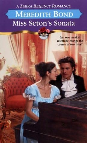 book cover of Miss Seton\'s Sonata