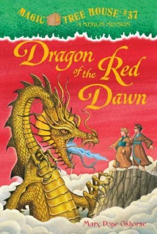 book cover of Dragon of the Red Dawn