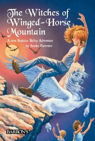 book cover of The Witches of Winged-Horse Mountain