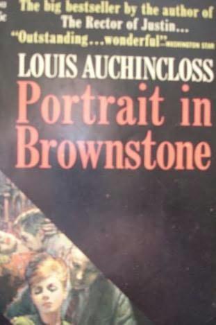 book cover of Portrait in Brownstone