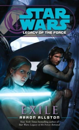 book cover of Exile (Star Wars : Legacy of the Force, book 4)