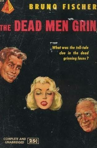 book cover of The Dead Men Grin