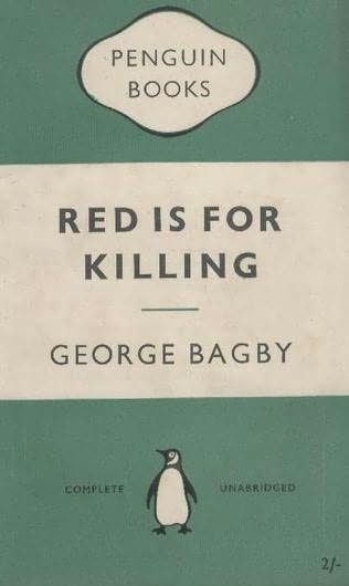 book cover of Red Is for Killing