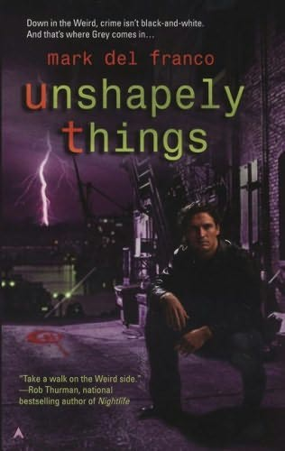 book cover of Unshapely Things