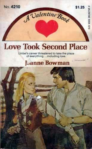 book cover of Love Took Second Place