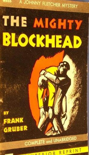 book cover of The Mighty Blockhead