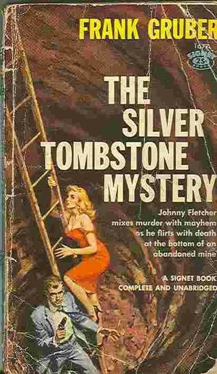 book cover of The Silver Tombstone Mystery