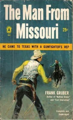 book cover of The Man From Missouri