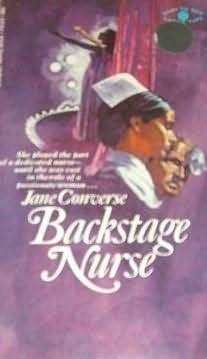 book cover of Backstage Nurse