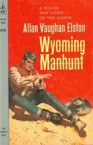 book cover of Wyoming Manhunt