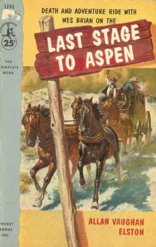 book cover of Last Stage to Aspen