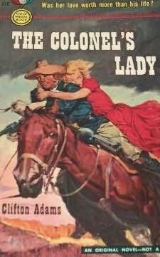 book cover of The Colonel\'s Lady