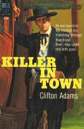 book cover of Killer In Town