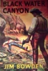 book cover of Black Water Canyon