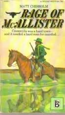 book cover of Rage of McAllister