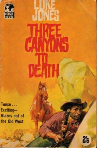 book cover of Three Canyons to Death
