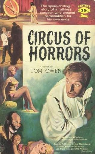book cover of Circus of Horrors