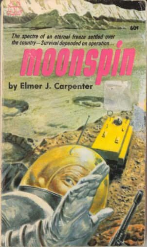 book cover of Moonspin