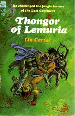 book cover of Thongor of Lemuria