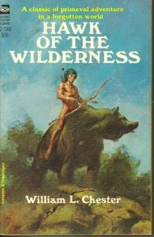 book cover of Hawk of the Wilderness
