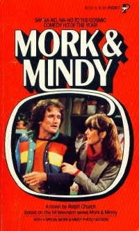 book cover of Mork and Mindy