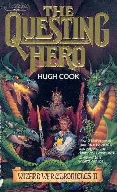 book cover of The Questing Hero