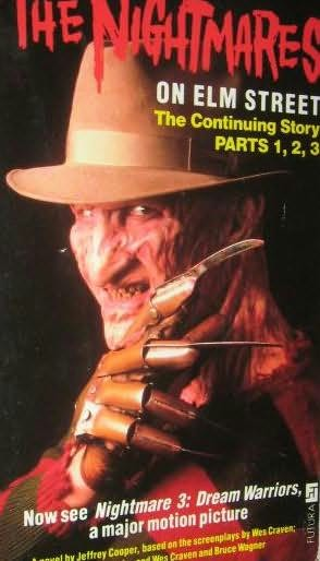 book cover of The Nightmares on Elm Street Parts 1 2 3