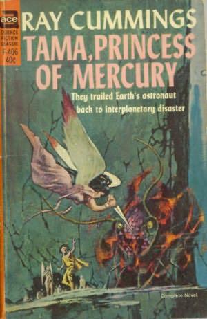 book cover of Tama, Princess of Mercury