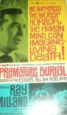 book cover of Premature Burial