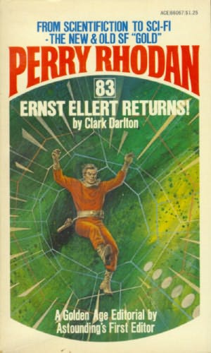 book cover of Ernst Ellert Returns!