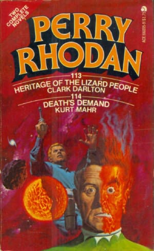 book cover of Heritage of the Lizard People