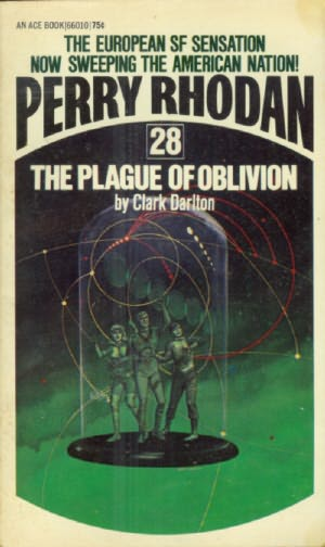book cover of The Plague of Oblivion