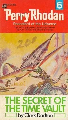book cover of The Secret of the Time Vault