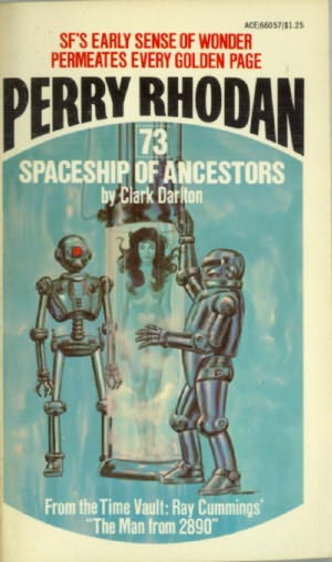 book cover of Spaceship of Ancestors