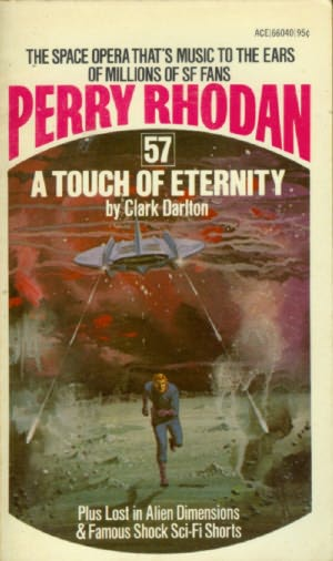 book cover of A Touch of Eternity
