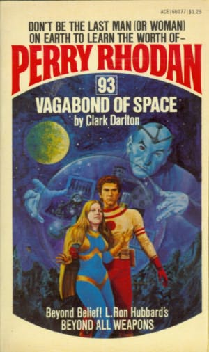 book cover of Vagabond of Space