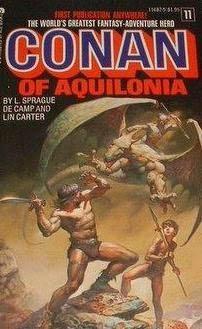 book cover of Conan of Aquilonia