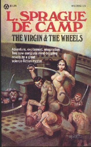 book cover of The Virgin and the Wheels