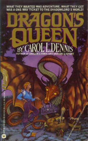 book cover of Dragon\'s Queen