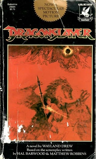 book cover of Dragonslayer