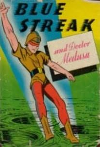 book cover of Blue Streak and Doctor Medusa