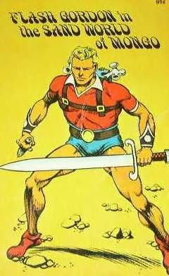 book cover of Flash Gordon in the Sand World of Mongo