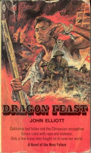 book cover of Dragon Feast