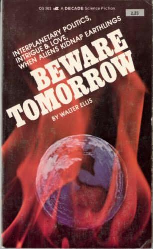 book cover of Beware Tomorrow