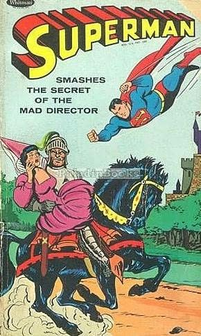 book cover of Superman Smashes the Secret of the Mad Director