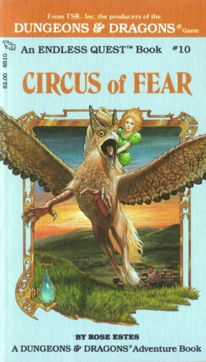 book cover of Circus of Fear