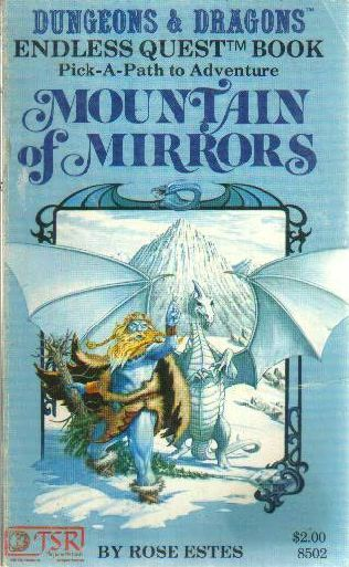 book cover of Mountain of Mirrors
